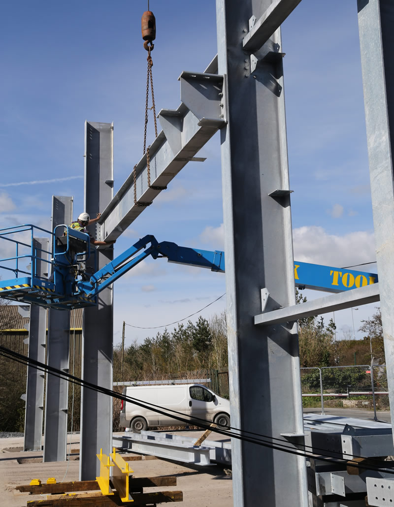 Structural Steel Fabrication | Irish Pioneer Works Fabricators