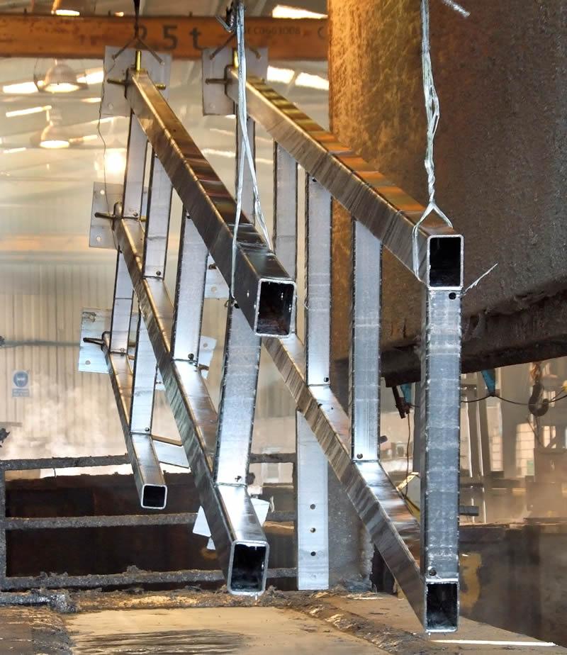 Galvanizing | Irish Pioneer Works Fabricators